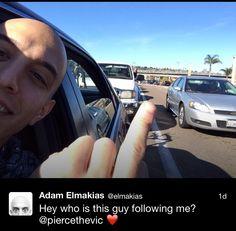 Adam Elmakias and Vic Fuentes :')