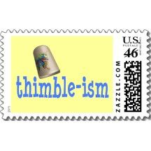 Sewing Thimble-ism Postage