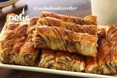 Haşhaşlı Bükme Çörek Tarifi Turkish Recipes, Banana Bread, French Toast, Food And Drink, Breakfast, Sweet, Desserts, Patterns, Kitchens