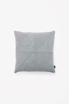 COS | Square contrast cushion