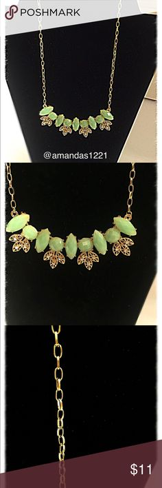 Marysol Accessories Mint Green Statement Necklace You are viewing mint green statement necklace from Marysol Accessories. This necklace is brand new. It is the perfect necklace to pair with all your summer outfits. You can pair this with a simple t-shirt and jeans or add it to a dress as a statement piece. Create a variety of looks with this necklace. Please let me know if you have any questions. Marysol Accessories  Jewelry Necklaces