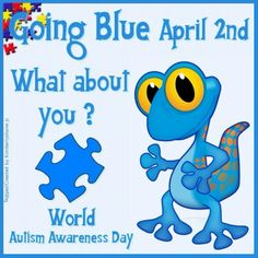 Hi everyone! So I have a HUGE favor to ask you all. Tomorrow is National Autism Awareness day and It would mean the world to them and make them so happy to see YOU guys wear blue in support of them.
