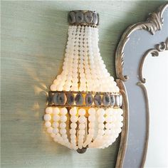 Beaded Sensation Sconce