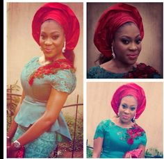 Colorful: WDN Gorgeous Aso-Ebi Ensemble - Wedding Digest NaijaWedding Digest Naija