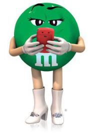 Help select the new color blend for M&M'S® M&m Characters, Green Characters, Favorite Candy, My Favorite Color, My Favorite Things, Peanut M&ms, Miss Green, M Wallpaper, M Craft