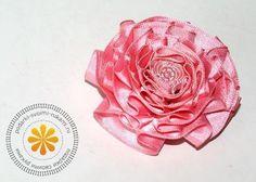 DIY Ribbon Crafts : DIY Special Satin Ribbon Carnation