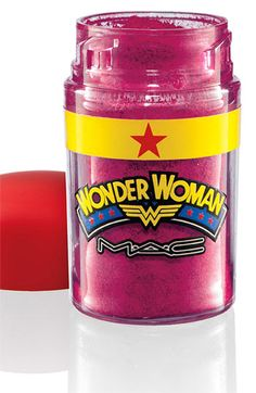BRIGHT FUCHSIA LOOSE PIGMENT (2) from MAC's WONDER WOMEN COLLECTION: Shade Description: Intensely rich fuchsia with a hint of pearl Finish: Pearl (Thinking of mixing this & WHITE pigment w/MAC LIPMIX to see if can make a lipgloss...)