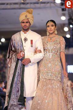 #Elan presenting  bridal collection in #pakistanBridalWeek pinned by #SidraYounas