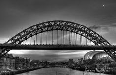The Tyne Bridge, Newcastle - upon - Tyne.