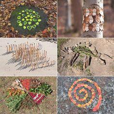 Arte con los Niños en la Naturaleza - DecoPeques