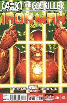 Iron Man # 7 Marvel Now! Vol 5