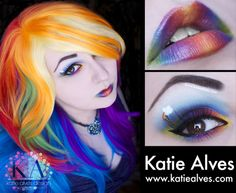 Rainbow Dash look.