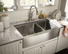 """You'll love the Farmhouse 36"""" x 21.25"""" Undermount Double Bowl Kitchen Sink at Wayfair - Great Deals on all  products with Free Shipping on most stuff, even the big stuff."""
