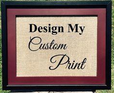 Design A Custom Print  #Create #Design #art #etsy #etsyteams #FRIDAY #home