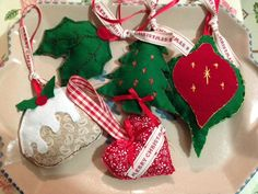 Christmas Decorations, lightly padded, 3 pounds each + postage