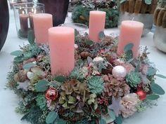 Woodland Christmas, Pink Christmas, Winter Christmas, Christmas Home, Xmas, Holiday, New Years Decorations, Flower Decorations, Christmas Decorations