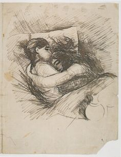 Edvard Munch, Man and Woman in Bed (Saint Cloud), 1890