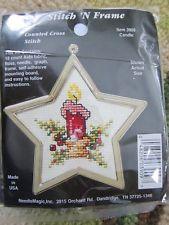 new christmas ornament crossstitch kit stitch n frame