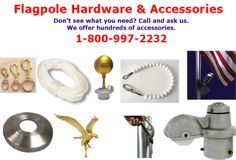 Hardware and accessories for flags