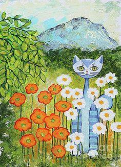Jutta Maria Pusl - Cat Loves Nature