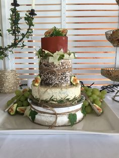 Cheese wheel cake,