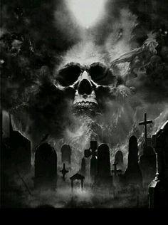 Skull silencio de la noche