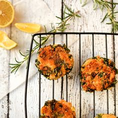 kale and butter bean fritters. Kale and butter bean fritters - light crispy and utterly delicious Gluten Free Vegetarian Recipes, Heart Healthy Recipes, Dairy Free Recipes, Whole Food Recipes, Delicious Recipes, Vegetarian Italian, Vegan Keto, Vegetarian Cooking
