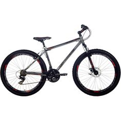 """The Northwoods N29 Men's Mountain Bike features 29"""" rims and a lightweight alloy frame for miles of off-road fun. Equipped with a front disc brake for superb stopping power, this well balanced mountain bicycle can handle any trail. For ages 15 years and up. Note - Ships unassembled; assembly required. Please refer to our bike sizing chart to ensure you order the size.'"""