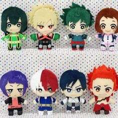 "Boku No Hero Academia Banpresto ""Tomonui"" Plush Keychains Dimensions: Roughly Release Date: July 2018 My Hero Academia Shirt, My Hero Academia Merchandise, Anime Merchandise, Hero Academia Characters, Boku No Hero Academia, My Hero Academia Manga, Anime Diys, Anime Crafts, Kawaii Crafts"