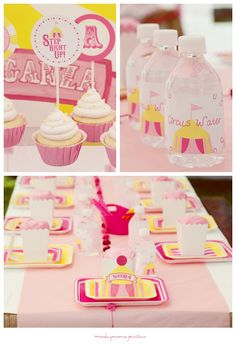 Circus Baby Shower Party Ideas