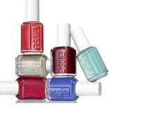 Essie 2012 winter trend shades: snap happy, she's pampered, beyond cozy, leading lady, butler please, mint candy apple