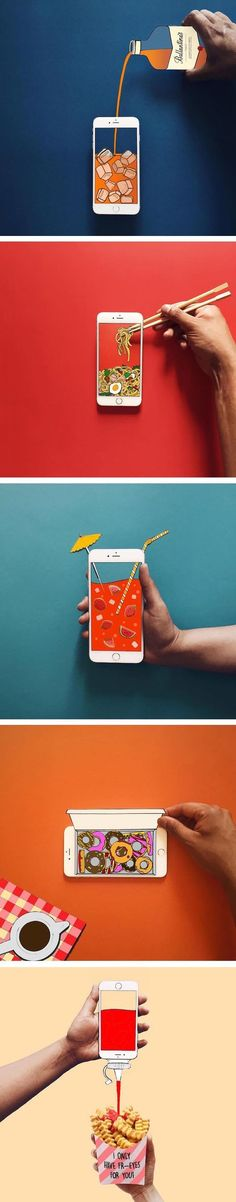 Anshuman Ghosh's Playful Illusions Created with an iPhone // Brown Paper Bag