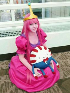 Cosplay princesa chicle