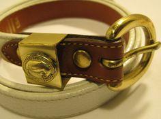Vtg Dooney and Burke Women Leather Belt, Soild Brass #Buckle. #DooneyBourke stores.ebay.com/main-street-closeout