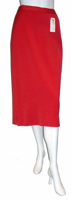 $25.00  1950's gabardine wool skirt.