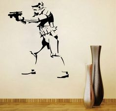 Just US$7.03, buy w-27 Stormtrooper Style Wall Sticker online shopping at GearBest.com Mobile.