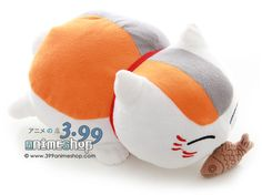 Natsume's Book of Friends: Nyanko Sensei Plush - Eating Fish