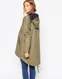 Image 2 of ASOS Parka In Oversized Fit