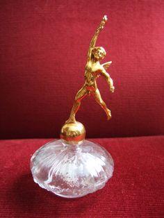 Rare flacon de parfum de DesGrieux,création de Van Deck 1930