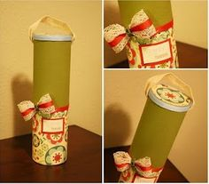 Pringles - reciclando as embalagens...