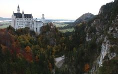 Neuschwanstein Castle near Fuessen, Bavaria, Germany (Angela Reichenbach)