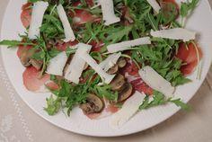 Eerst Koken: Gemarineerde champignons voor bij een salade #vegetarisch #umami