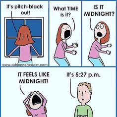 Daylight Savings - more at http://www.thelolempire.com
