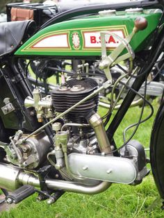 BSA 350cc Motorcycle Engine - 1928 | Flickr - Photo Sharing!