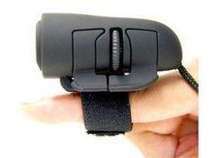 USB 3D optical finger mouse - PC - black 1200 Dpi @ £2.15