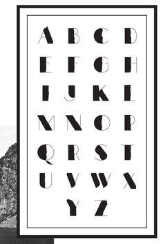 Man Farin - Canyon Typeface