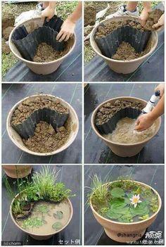 Diy flower pot idea