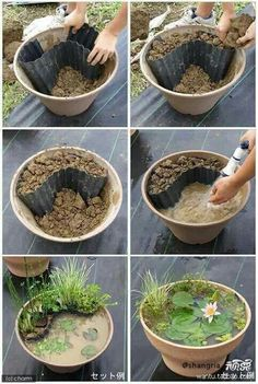 Diy flower pot idea