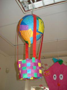 Knutselen 3d: Luchtballon