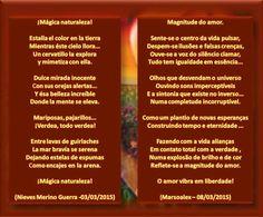 MAGNITUDE DO AMOR // MÁGICA NATURALEZA - DUETO E ARTES DA GRANDE MARSOALEX . OBRIGADA! - Encontro de Poetas e Amigos